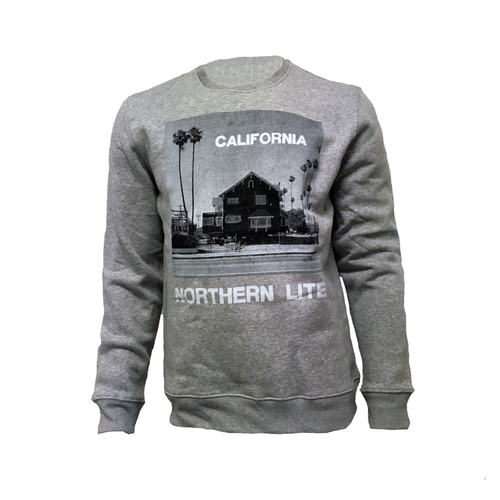 Northern Lite - California (Sweatshirt Unisex) grey